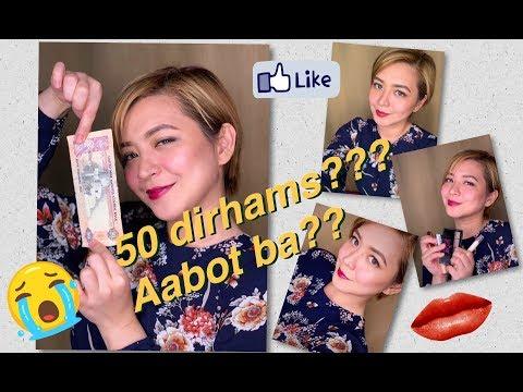 50 Dirhams Make Up Challenge ($13.61 - kaya ba?)
