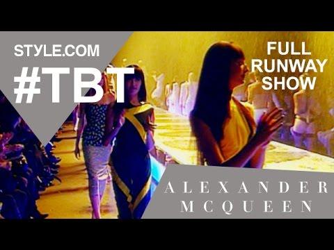 Alexander McQueen's Spring 1998 Golden Shower Collection-Full Runway Show-Style.com