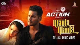 Action | Maula Maula Telugu Lyric | Vishal, Tamannaah | Hiphop Tamizha | Sundar.C