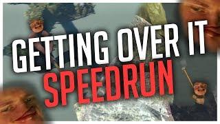 Getting Over It Speedrun Montage