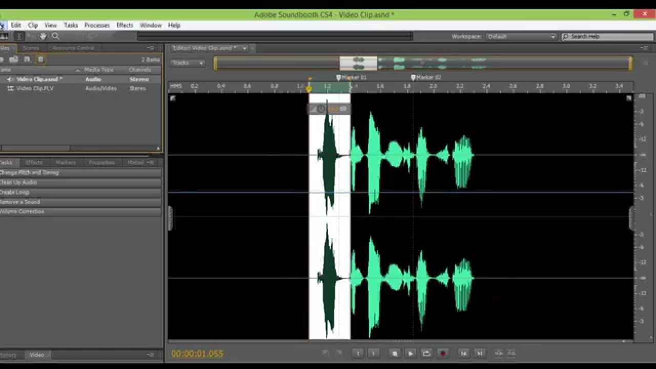 Adobe soundbooth cs4 makes audio editing so easy even i can do it.