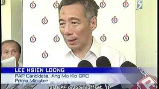 PM Lee: PAP recognises concerns of all segments of society - 04May2011