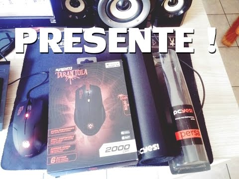 Presente NetConfig -  Mouse Fortrek + Mouse Pad Pcyes