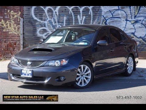 2008 Subaru Impreza Wrx Sedan Youtube