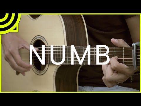 Numb - Linkin Park (Fingerstyle Guitar Cover by Albert Gyorfi) [+TABS]