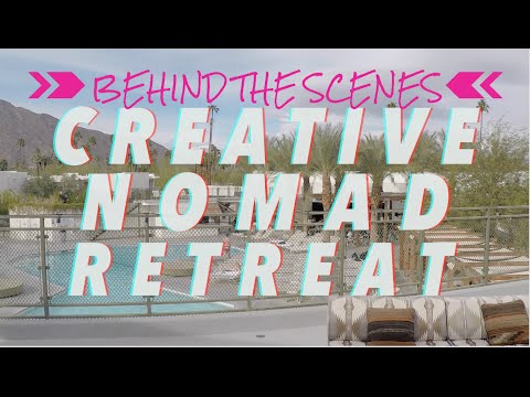 BEHIND THE SCENES | creative nomad