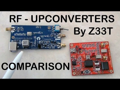RF Upconverters Comparison: Ham It Up Vs SV1AFN - Part1