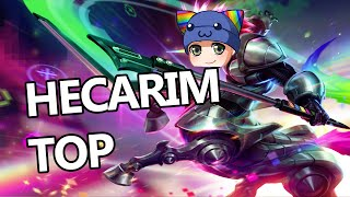 League of Legends - Hecarim Top - Full Game Commentary
