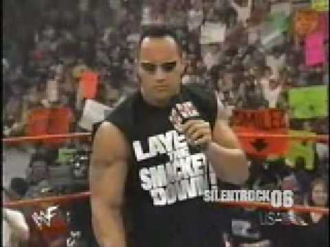 The Rock sings the SmackDown Hotel song