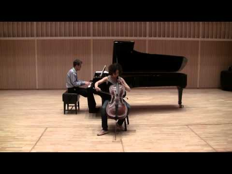 Grieg: Sonata for Cello and Piano in A minor, op. 36