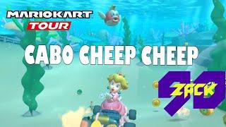 Mario Kart Tour - Copa Bebé Peach - 3DS Cabo Cheep Cheep - Peach - ZACK90
