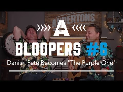"Bloopers #6 - Danish Pete Becomes ""The Purple One"""