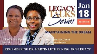Legacy Talks   MLK's Legacy 2021
