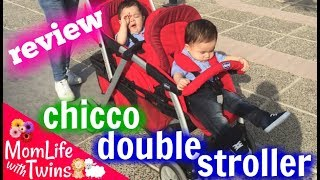 CHICCO CORTINA TOGETHER DOUBLE STROLLER REVIEW 2016 | WHY I SOLD IT?