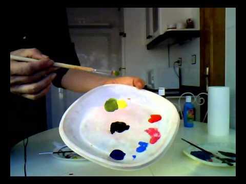 Mezclar colores c mo usar el negro para oscurecer colores for Con que se limpia el marmol blanco