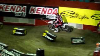 Dirt bike back flip ama arenacross x games