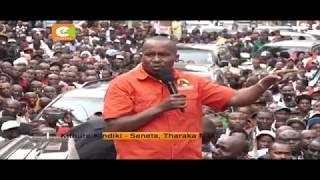Kikosi cha Jubilee chafanya mkutano kaunti ya Kiambu