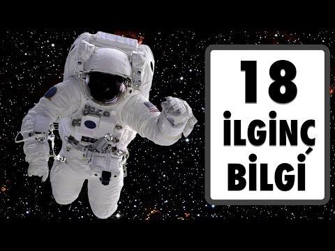 Uzayla İlgili 18 İlginç Bilgi