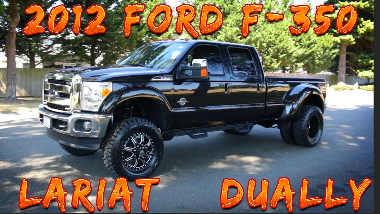 Used Ford F350 Dually Wheels >> 2012 Ford F 350 Lariat 4x4 Dually Northwest Motorsport