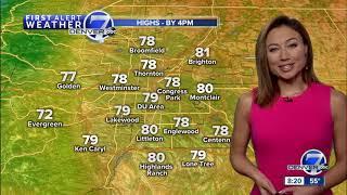 Warmer across Colorado Saturday thumbnail