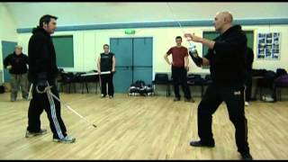 World of Martial Arts TV basic military sabre class part 3