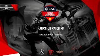 ESL Vietnam Championship - Liên Quân Mobile: EVOS vs FapTV
