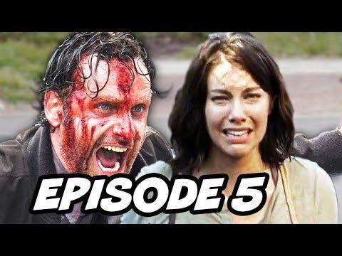 Walking Dead Season 6 Episode 5 - TOP 5 WTF