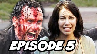 Walking Dead Season 6 Episode 5 - TOP 5 WTF