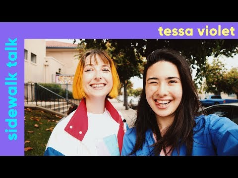 TESSA VIOLET Interview- Going Viral In Russia, Modeling In Asia, Friends With Dodie