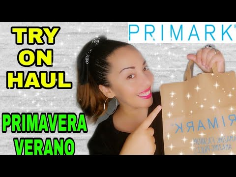 PRIMARK TRY ON HAUL PRIMAVERA/VERANO 2019
