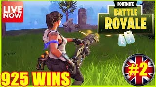 TOP PLAYER - FORTNITE BATTLE ROYALE - 925 WINS - (PS4 PRO) Full HD