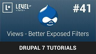 Drupal 7 Tutorials #41 - Views - Better Exposed Filters