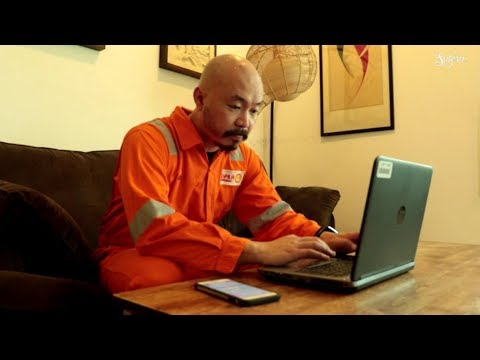 Life of an offshore worker   Alan Tan