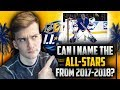 Can I Name the 2017-2018 NHL All-Stars?