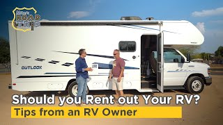 Should you rent out your RV? RV Rental Tips from an RVezy RV owner
