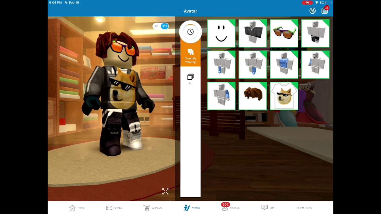 How To Change A Specific Body Parts Color On Mobile On Roblox