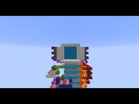 Minecraft My First 5x5 Piston Door