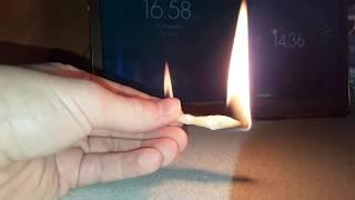 Как сделать спички которые долго горят