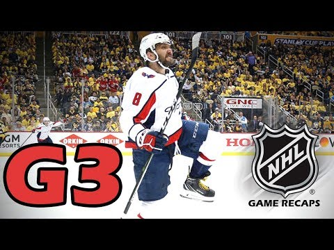 Washington Capitals vs Pittsburgh Penguins. 2018 NHL Playoffs. Round 2. Game 3. 05.01.2018. (HD)