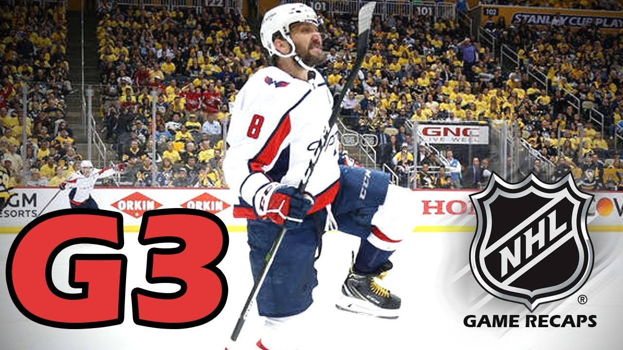 Washington Capitals vs Pittsburgh Penguins. 2018 NHL Playoffs. Round 2. Game  3. 05.01.2018. (HD) cb974f82d1f9