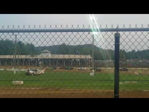 Brownstown Speedway Hornet heat 2 8-18-18