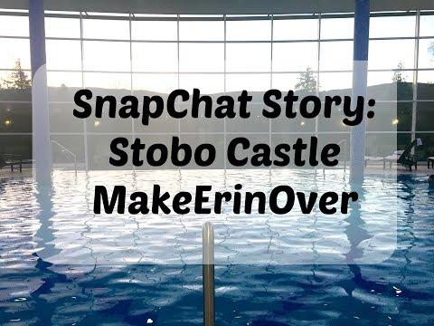 Snapchat: A Trip to Stobo Castle || MakeErinOver