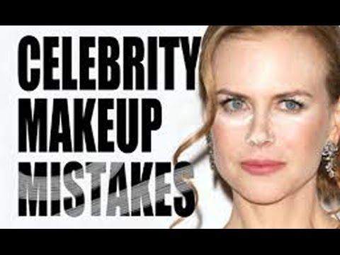 Celebrity bloopers and blunders