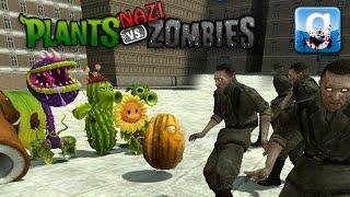 Gmod PLANTS VS NAZI ZOMBIES! (Garry