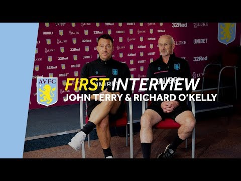 First interview | John Terry & Richard O'Kelly