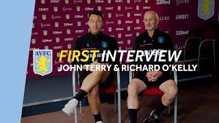 First interview | John Terry & Richard O'Kelly