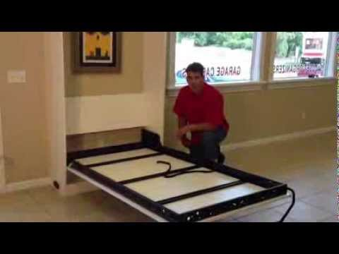 Closet Doctor Murphy Wall Bed Hardware  YouTube