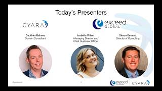 Cyara - Good to Great CX - Webinar