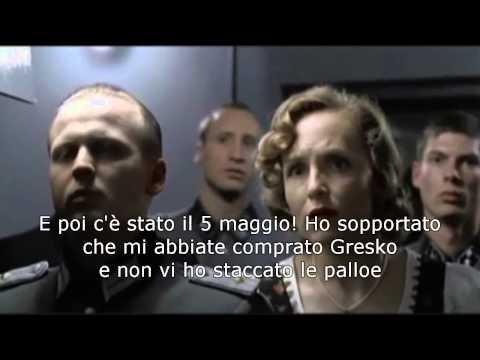 Hitler interista scopre che il Milan ha comprato Balotelli