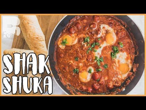 5 Minuten One Pot Gericht - Shakshuka Rezept - Tomaten Eintopf